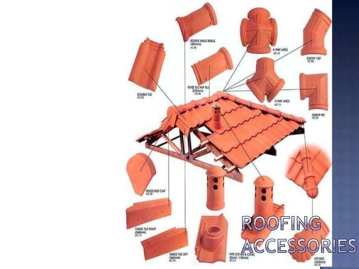 Roofing Accessories. 1. CHRISTIAN BALDO NICK GINO CRUZ V23; 2.