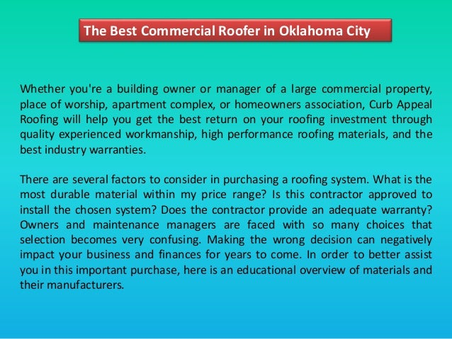 3. The Best Commercial Roofer In Oklahoma City ...