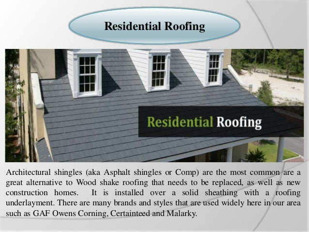 Exceptional Roofing Companies Oklahoma City. Residential Roofing Architectural Shingles  (aka Asphalt Shingles Or Comp) Are The Most Common Are ...