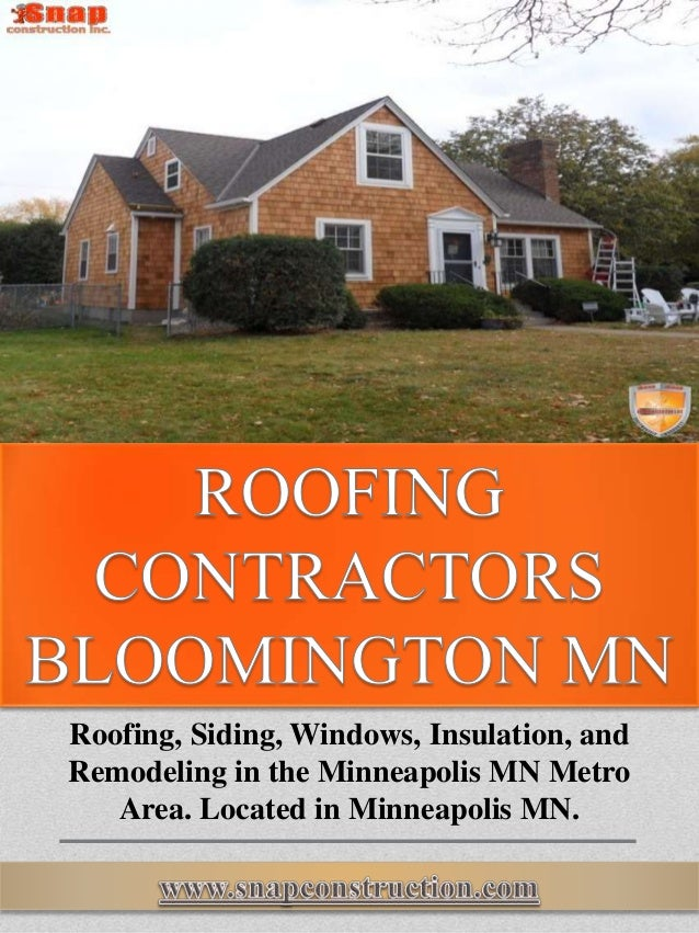 Roofing, Siding, Windows, Insulation, And Remodeling In The Minneapolis MN  Metro Area ...