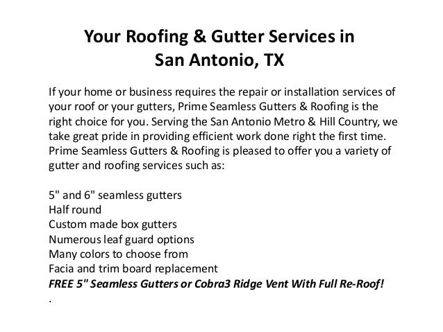 Roofing Contractors San Antonio