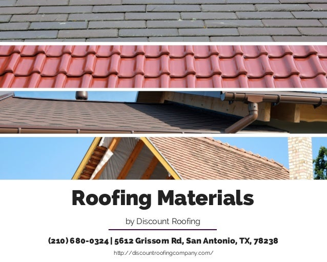 Roofing materials for Roofing material options