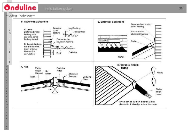 Roofing Sheets Onduline Catalogue 01 04 2011