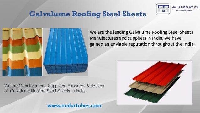 Roofing sheets, Roofing products and Roofing accessories