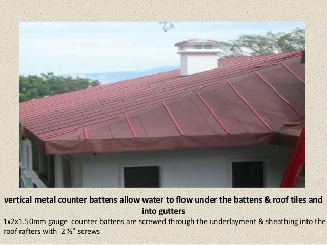Quality Roof Installation In Costa Rica