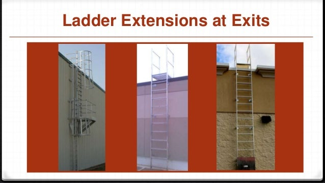 Fixed Ladder Roof Ladder Cage Ladder Slide Show