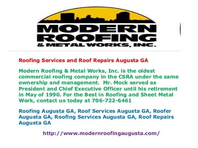 Roof Repairs Augusta Ga 05 07 2015