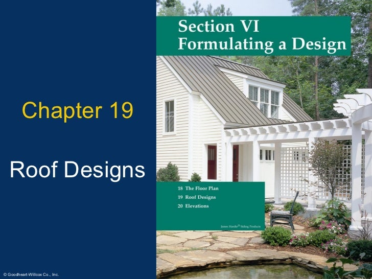 Chapter 19 Roof Designs