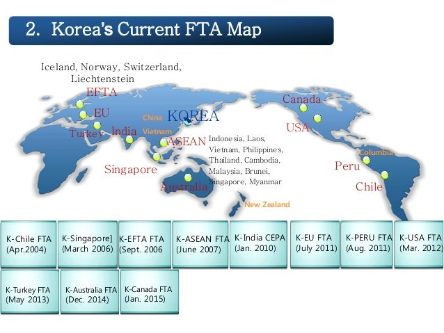 Policy Of Free Trade Agreement In Korea
