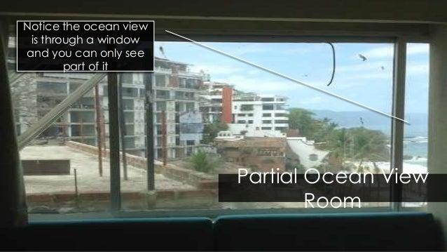Room Types Partial Ocean View Vs Oceanview Vs Ocean Front
