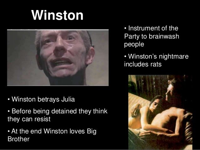 1984 what do winston and julia realize about their relationship