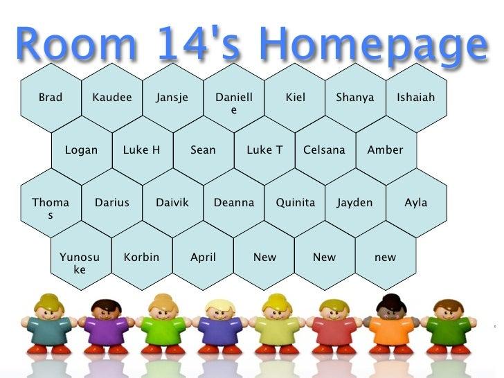 Room 14's Homepage Brad       Kaudee   Jansje       Daniell         Kiel         Shanya         Ishaiah                   ...