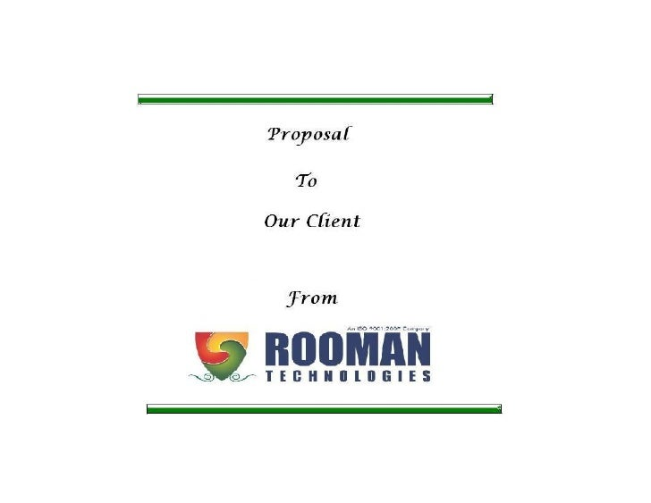 ROOMAN TECHNOLOGIES PVT. LTD.                          PLUG INTO THE FUTURE          Free Powerpoint Templates            ...