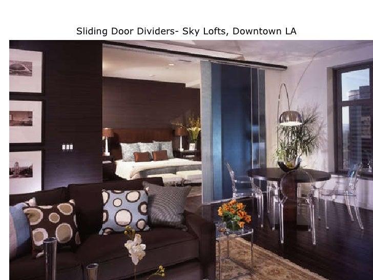 Sliding Door Dividers- Sky Lofts, Downtown LA