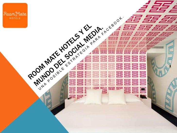"""ROOM MATE HOTELS.GENERAL VIEW. 1/3Room Mates Hotels es una cadena española de hoteles y apartamentos  urbanos.""""La estancia..."""