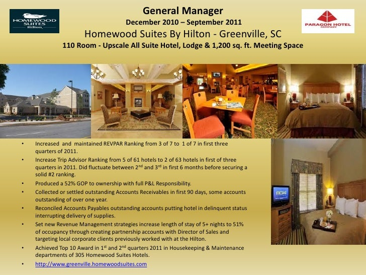rooms director operations hotel visual resume michael