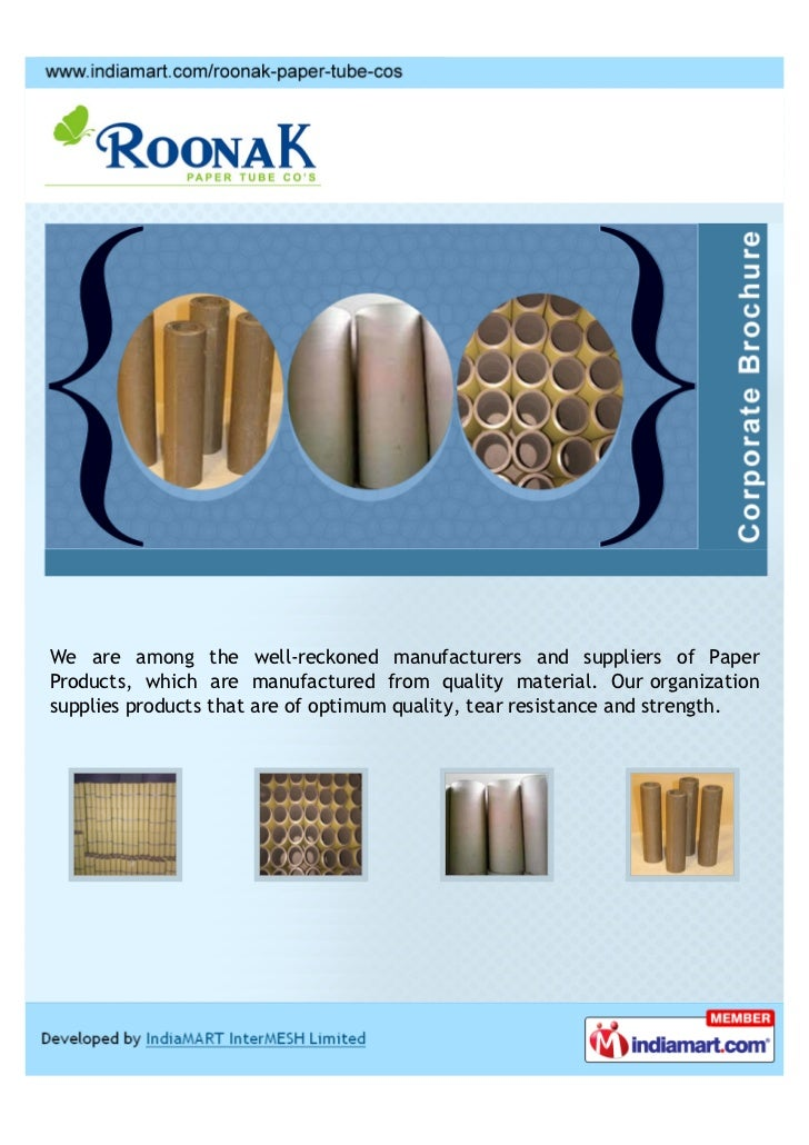 We are among the well-reckoned manufacturers and suppliers of PaperProducts, which are manufactured from quality material....