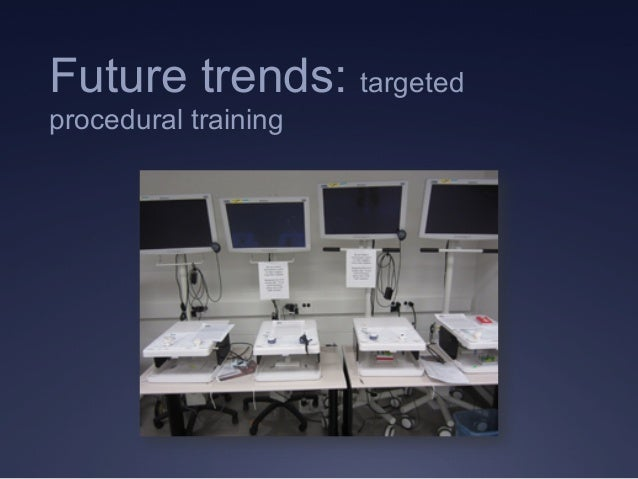 Future trends: targeted procedural training