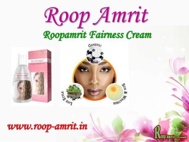 Roop Amrit Roopamrit Fairness Cream www.roop-amrit.in