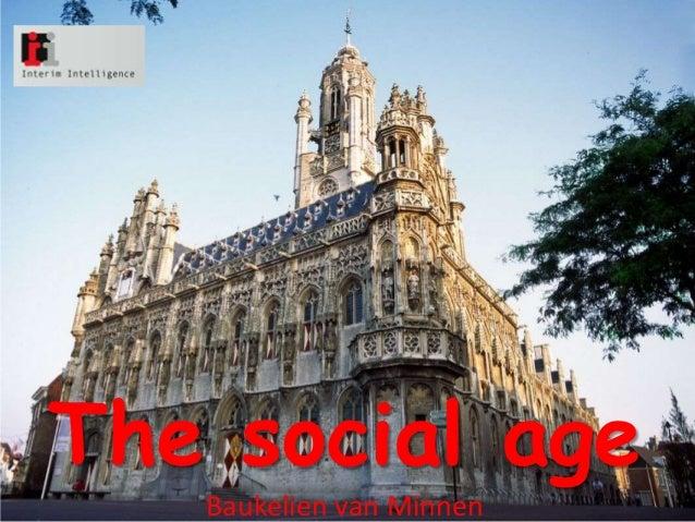 The social age   Baukelien van Minnen