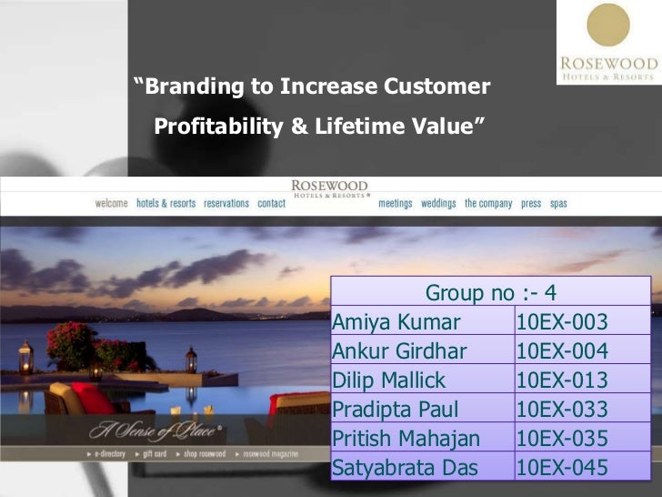 """Branding to Increase Customer Profitability & Lifetime Value""<br />"