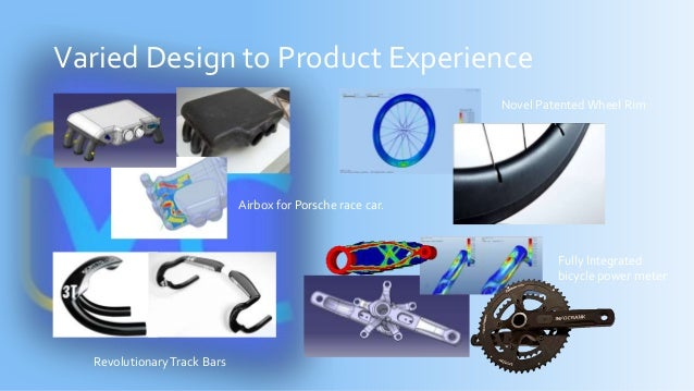 Varied Design to Product Experience Airbox for Porsche race car. Novel PatentedWheel Rim RevolutionaryTrack Bars Fully Int...