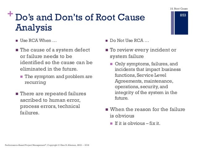 statistics in validating root causes analysis Statistics for analysis of experimental data catherine a peters  another useful statistic is the sample standard deviation, s, which is the square root of the.