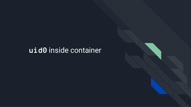 uid0 inside container
