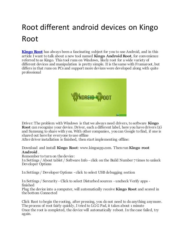 How to use kingo root on android | How to root Android phone