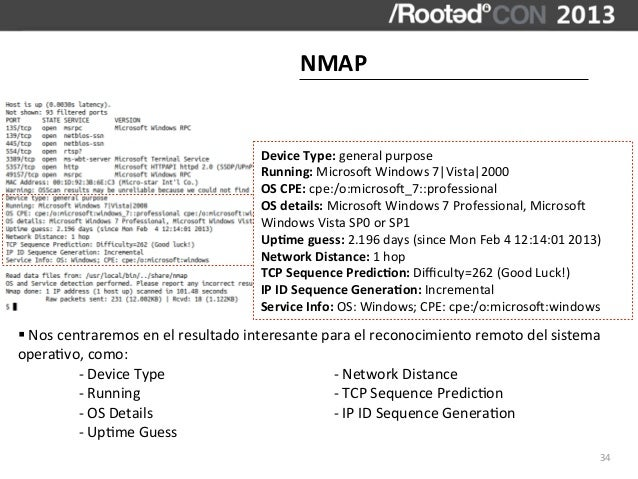 NMAP                                                     Device Type: general purpose                               ...