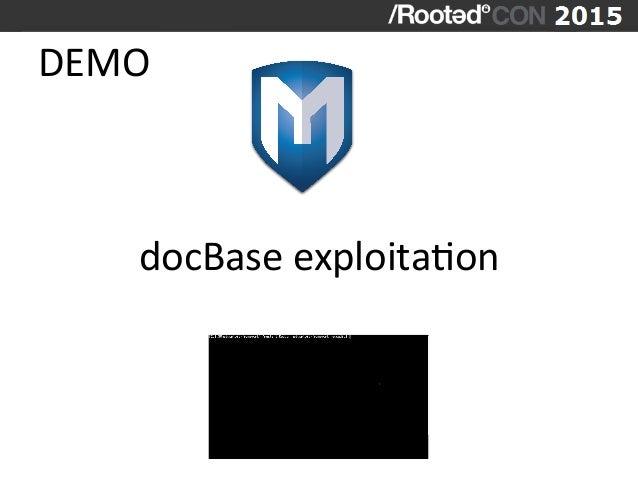 DEMO   docBase  exploitaVon