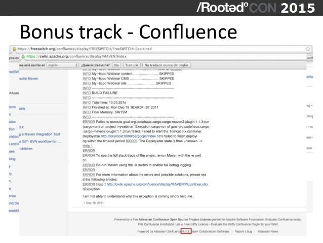 Bonus  track  -‐  Confluence
