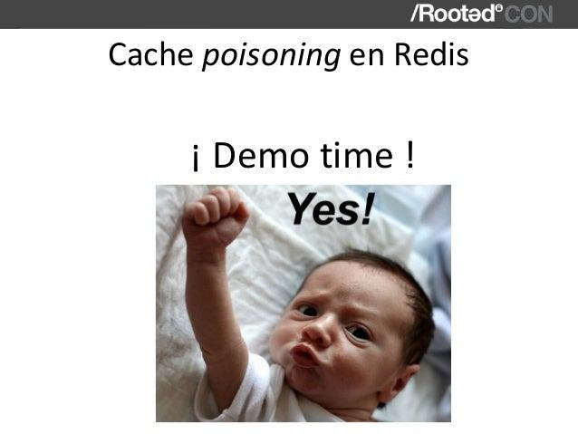 CachepoisoningenRedis ¡Demotime!