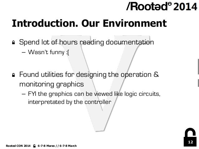 12 Rooted CON 2014 6-7-8 Marzo // 6-7-8 March Introduction. Our Environment !  Spend lot of hours reading documentation –...