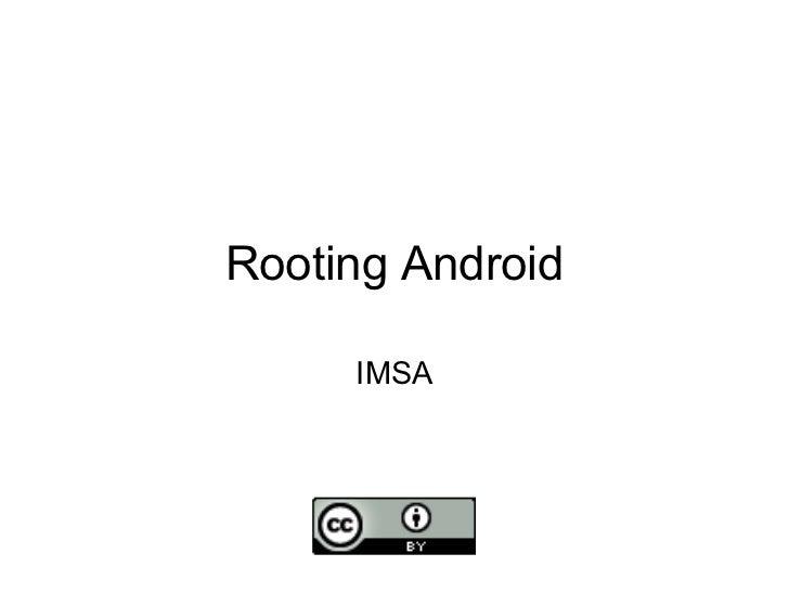 Rooting Android IMSA