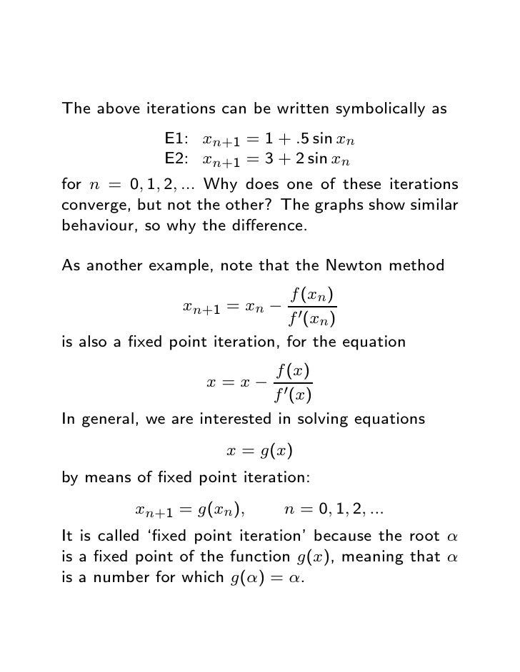 Roots equations