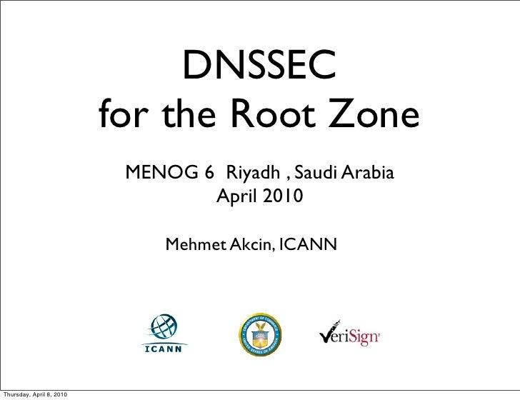 MENOG6 Root Signing