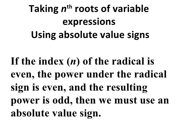 real number and radical exponent Let's go through some basic mathematical operations with radicals and exponents adding and subtracting radical [latex]x^2=-1[/latex] for [latex]x[/latex] results in a number that would not be a real number, referred to as an imaginary number the imaginary number, [latex]i.