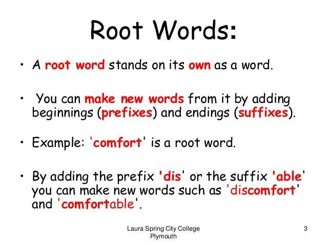 Prefix Suffix Root Word Worksheet Driverlayer Search Engine