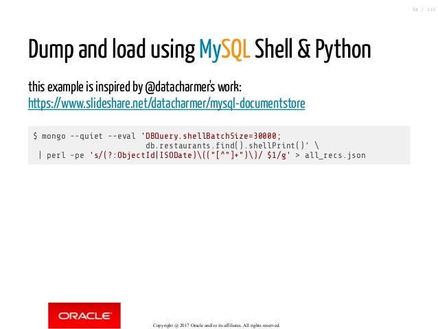 Mysql Document Store How To Replace A Nosql Database By Mysql Witho