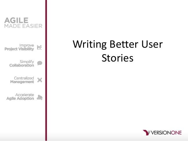 Writing Better UserStories