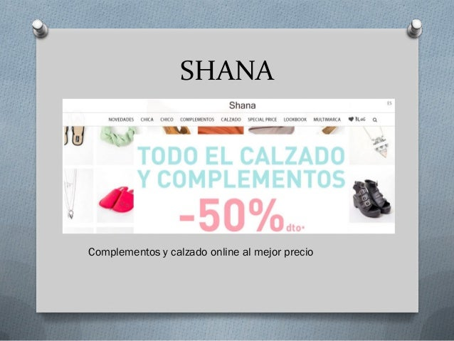 51fead5bd1 SHANA Complementos y calzado online al mejor precio ...