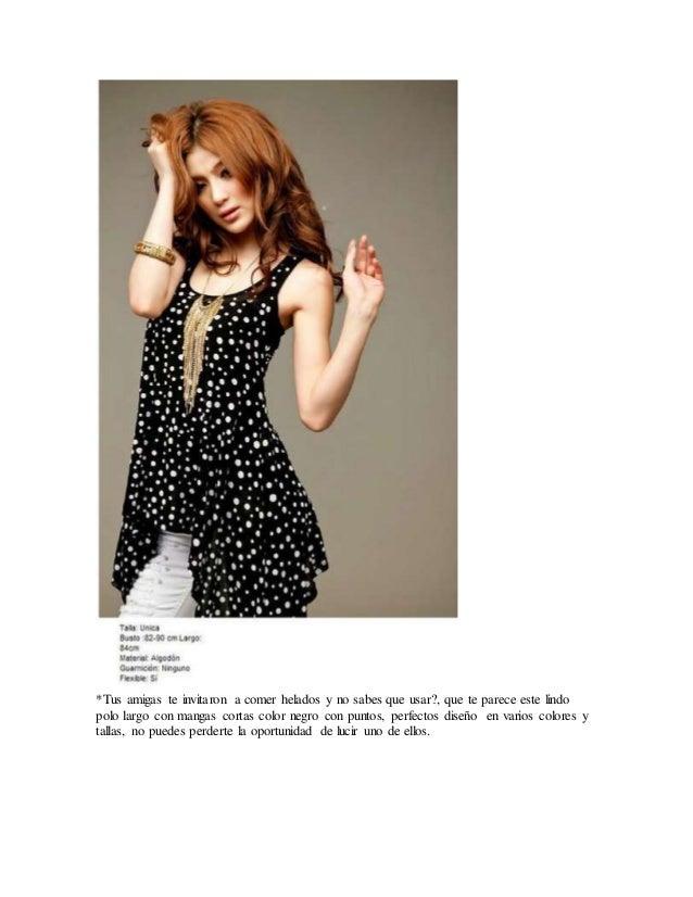 98d9bb57c Ropa de moda para chicas