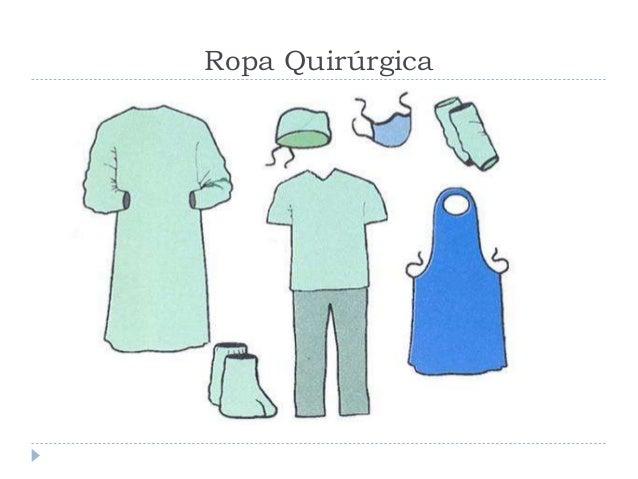 Ropa Quirúrgica; 2.