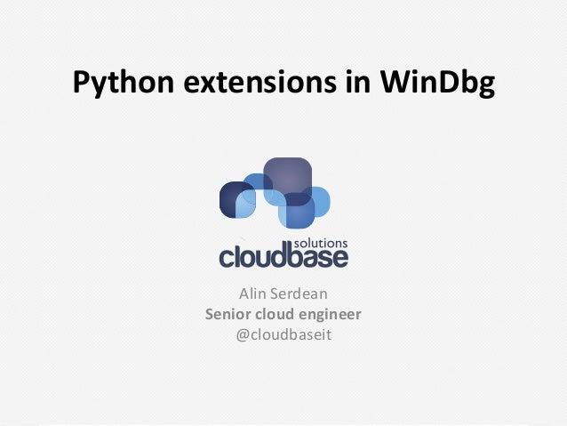 Ropython-windbg-python-extensions