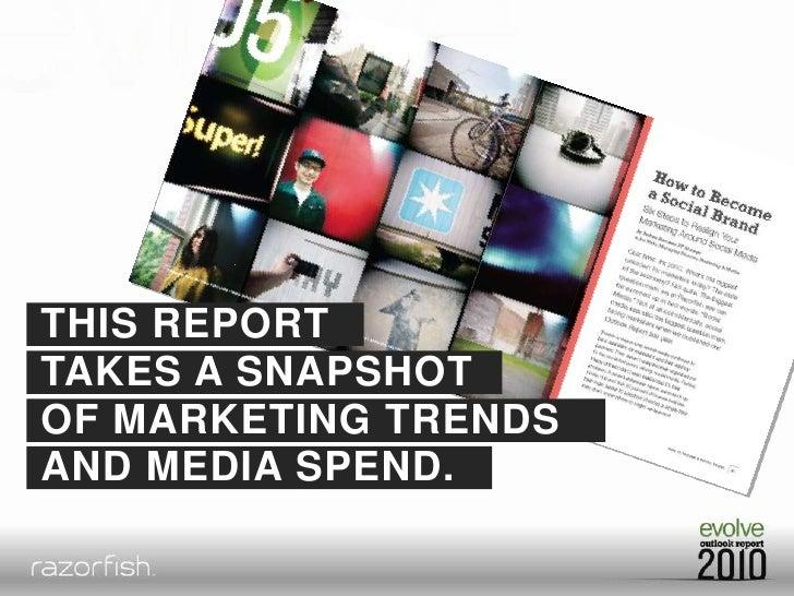 2010 Razorfish Outlook Report Key Findings Slide 2