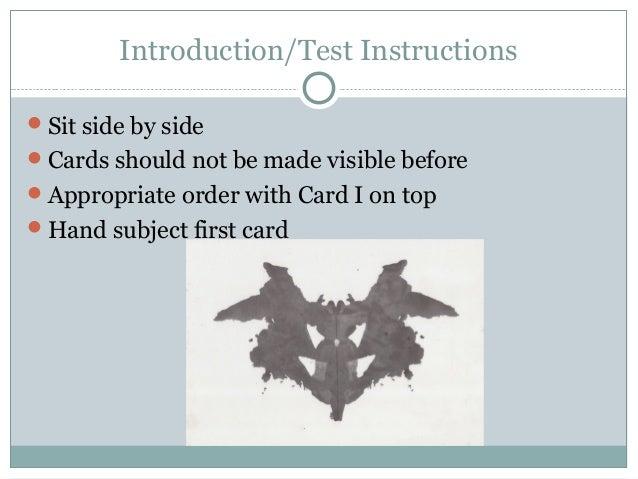 rorschach ink blot test rh slideshare net Rorschach Test Jokes Funny Rorschach Test