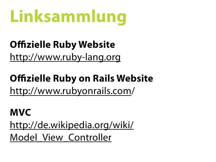 Ruby on Rails SS09 02
