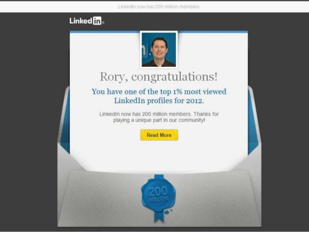 Rory cawley top 1 percent most viewed profile