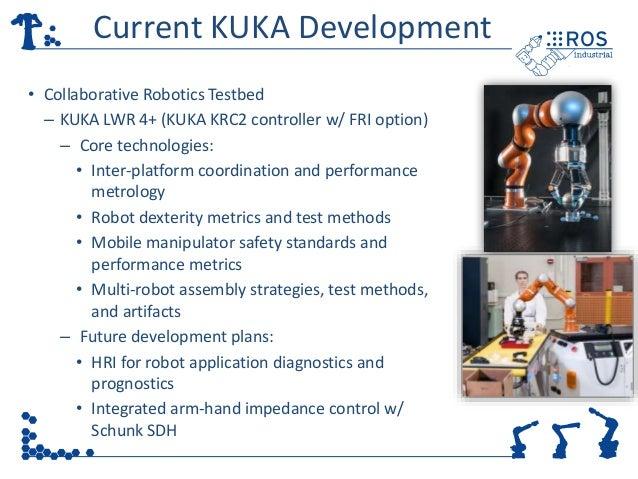 ROS-Industrial Kuka LBR-iiwa community meeting